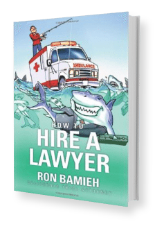 How to hire a lawyer by Ron Bamieh