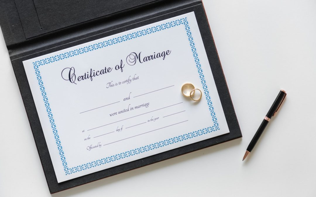 Do I Need My Marriage Certificate to File for Divorce in California?